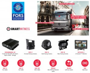 SmartWitness FORS Silver - RIGID