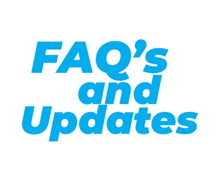 FAQ's and Updates